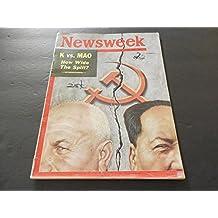 Newsweek Mar 26 1962 Kruschev vs. Mao (Just Nuke'em); Campaign Finance
