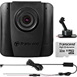 Transcend DrivePro 50 1080p HD Wi-Fi Car Dashboard Video Recorder with Adhesive Mount Includes 32GB HE microSD Card & Hardwire Kit
