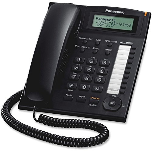 Panasonic KX-TS880B dect_6.0 Integrated Corded Telephone - Integrated System Phone