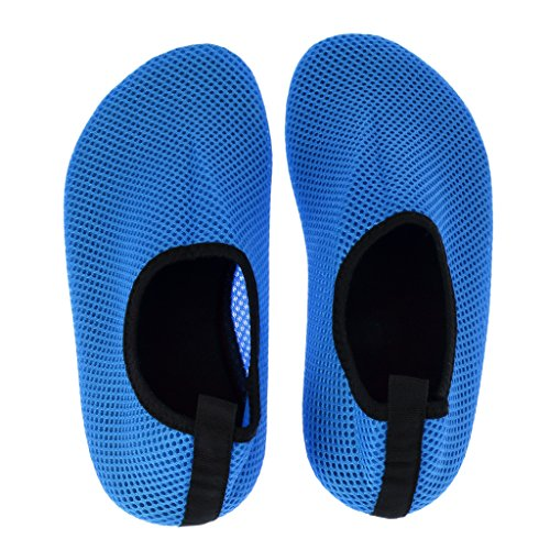 Barefoot Socks Blue Bottom Non perfk Socks slip Aqua Mesh Surfing Shoes Water Non slip 1wqfP