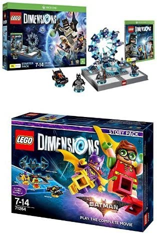LEGO - Starter Pack Dimensions (Xbox One) + LEGO Dimensions Story ...