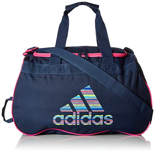 adidas Diablo Duffel Bag, Collegiate Navy/Shock Pink Andreas/Shock Pink, One Size