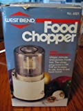 West Bend Food Chopper 6501