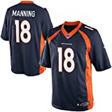 Mens Denver Broncos Peyton Manning Nike Team Game Jersey (Navy, X-Large)