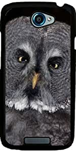 Case for HTC One S 4,3'' - Owl_2015_0201