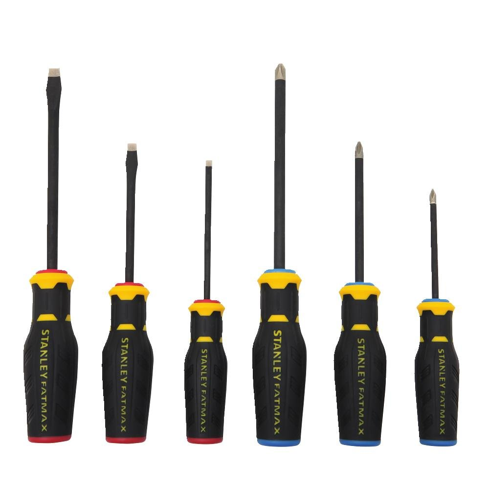 Stanley FMHT62052 6 Piece FatMax Diamond Tip Screwdriver Set by Stanley