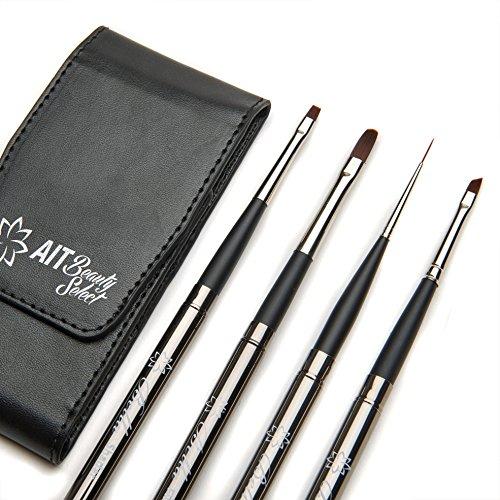 Ait Beauty Select Bella Makeup Brush   Set Of 4 Detail Brushes   Compact Travel Set