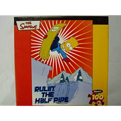 the Simpsons Rulin' The Half Pipe: Toys & Games