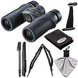 Cheap Nikon Monarch 7 8×30 ED ATB Waterproof/Fogproof Binoculars with Case + Harness + Tripod Adapter & Monopod + Kit