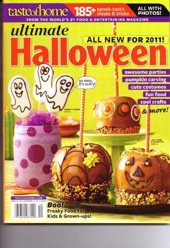 Ultimate HALLOWEEN Magazine. Taste Of Home. 2011.