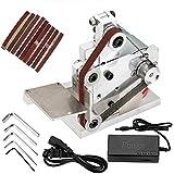 Diy Mini Belt Sander Electric Knife Apex Edge Sharpener Sanding Machine Belts Adapter Polisher Kits 7 Speed Diy…