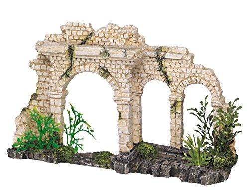 Nobby Decoración para acuario, diseño de arcos antiguos con plantas, 28,5 x 18,5 x 24 cm.: Amazon.es: Productos para mascotas