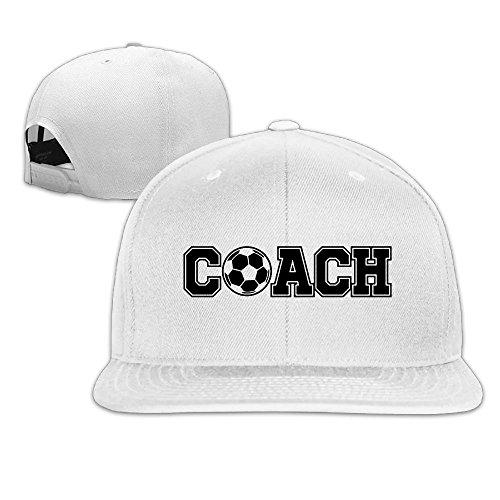 Coach Football Soccer Flat Brim Baseball - Sale Coach Usa Online