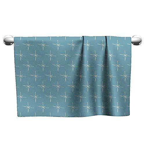 Tankcsard Seamless Pattern with Stars2,Rustic Towel Racks for Bathroom