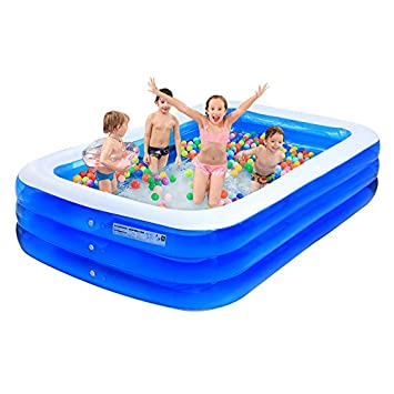 ASL Oversized Inflated Swimming Pool Großes Haus Spiel Pool ...