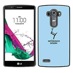 LECELL--Funda protectora / Cubierta / Piel For LG G4 -- diseño de diferencia --