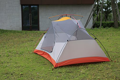 STAR HOME Camping Tent Lightweight Waterproof Backpacking Tents Hiking 2 Person Tents 3 Size by STAR HOME (Image #2)