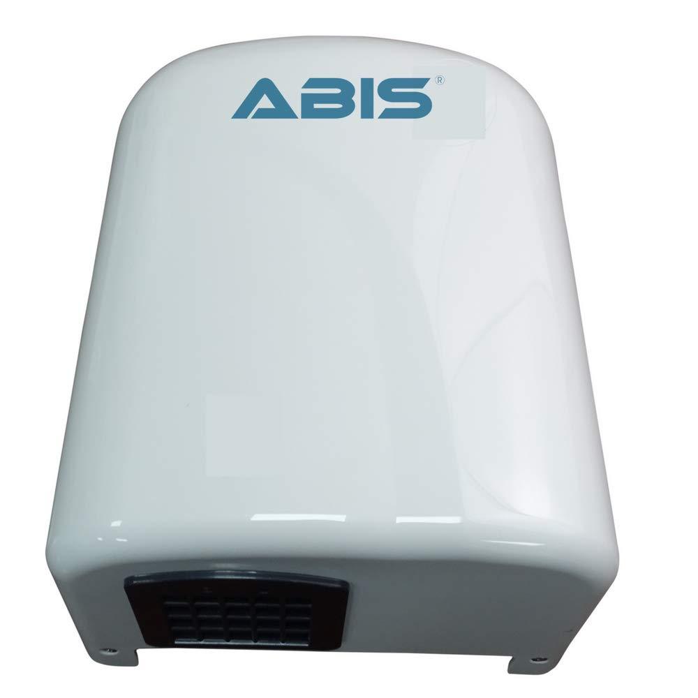 Asciugamani Elettrico - Asciugamani Elettrico Sensore Automatico Commerciale Efficiente Ottimo per Bagni Garanzia 3 Anni ABIS