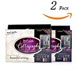 Calligraphy Pens Set 2PACK by Mont Marte, Best