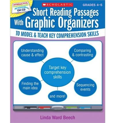 Read Online Short Reading Passages with Graphic Organizers, Grades 4-5: To Model & Teach Key Comprehension Skills (Mixed media product) - Common pdf