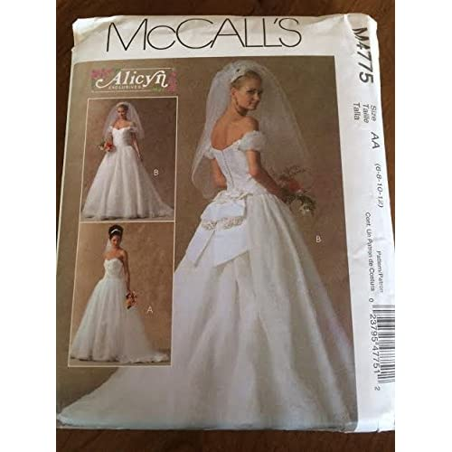 Bridal Gown Patterns Amazon Mesmerizing Wedding Gown Patterns