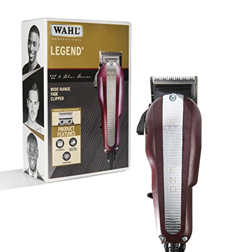 New Clipper Blades (Wahl Professional New Look 5-Star Legend Clipper #8147 - The Ultimate Wide-Range Fading Clipper with Crunch Blade Technology - Includes 8 Attachment Combs)