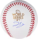 George Springer Houston Astros Autographed 2017 World Series Logo Baseball - Fanatics Authentic Certified
