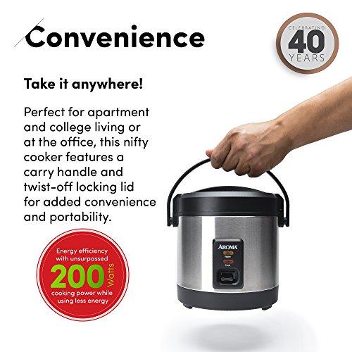 Aroma ARC-232 Multicooker, Black by Aroma (Image #3)
