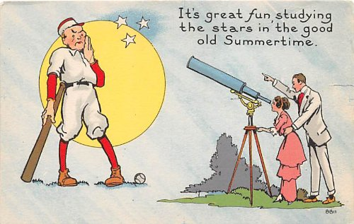 Publisher Bergman 8811, Baseball, Base Ball Comic Old Vintage Antique Postcard Post Cards (Bergman Antique)