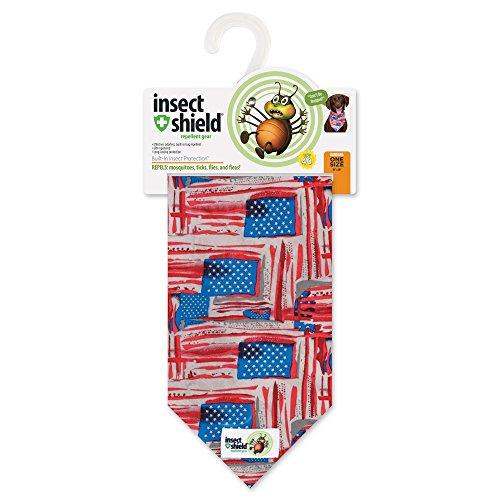 Insect Shield Patriotic Bandana