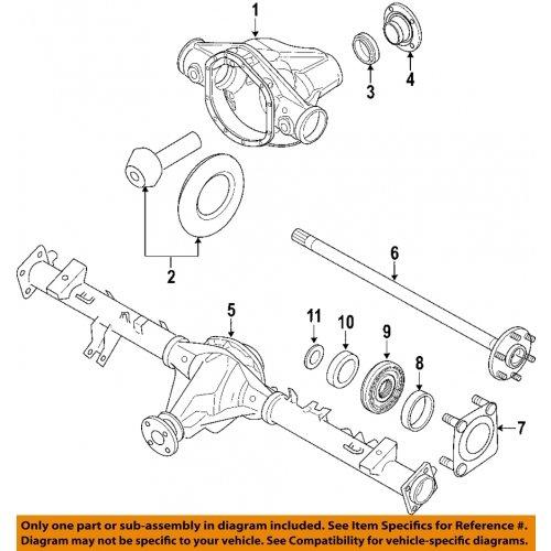 Nissan Cage Rear Axle