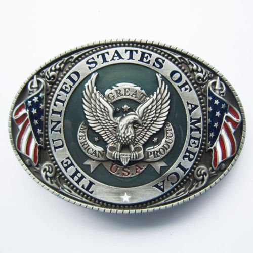 American Eagle Metal Fashion Buckle