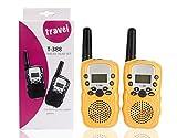 Walkie Talkies for Kids, 22 Channel Walkie Talkies 2 Way Radio 3 Miles (Up to 5Miles) FRS/GMRS Handheld Mini Walkie Talkies for Kids (Pair) by Winthome