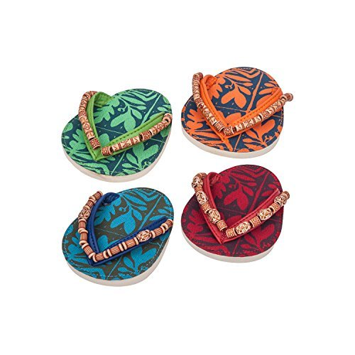- Drinkwear Totum Tiki Flip Flop Coaster Set of 4
