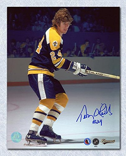 - TERRY O'REILLY Boston Bruins SIGNED 8x10 Photo - Autographed NHL Photos