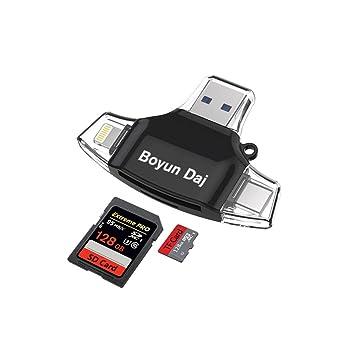 Amazon.com: Boyun dajsd lector de tarjetas, lector de ...