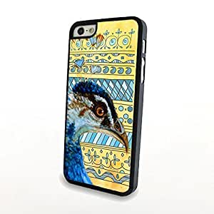 Cartoon Stripe Bird Print Case For Iphone 6 4.7 Inch Cover Hard Phone Cover Plastic Protector Shell Matte - Can Customize Model and Pattern