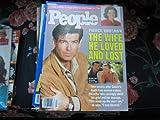 People Weekly (Pierce Brosnan...The Wife He Loved & Lost...Cassandra Harris, April 27 , 1992)