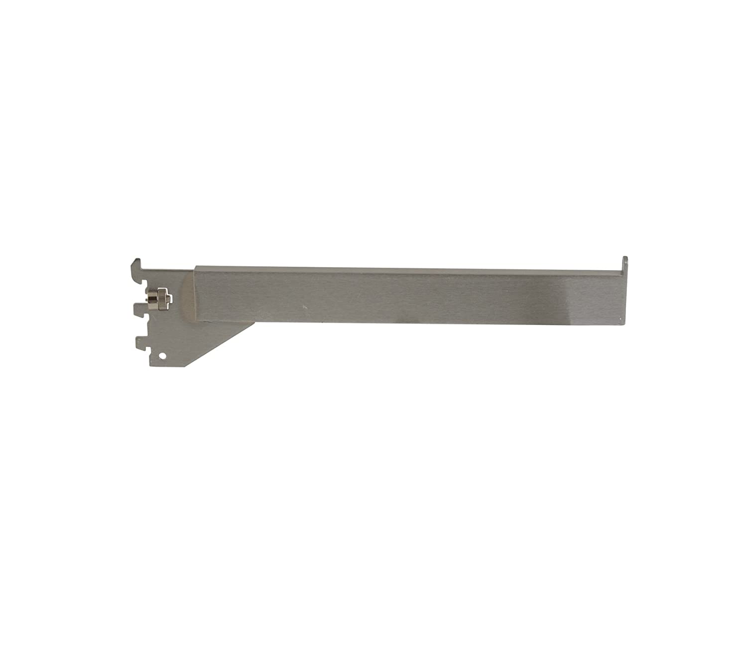 Satin Chrome Finish Econoco RDW//12-SC Tubing Straight Arm for Mounted or Recessed Standard 12 Pack of 24 Rectangular