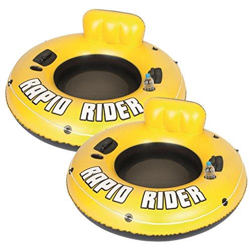 2 Pack Bestway Rapid Rider Inflatable 53