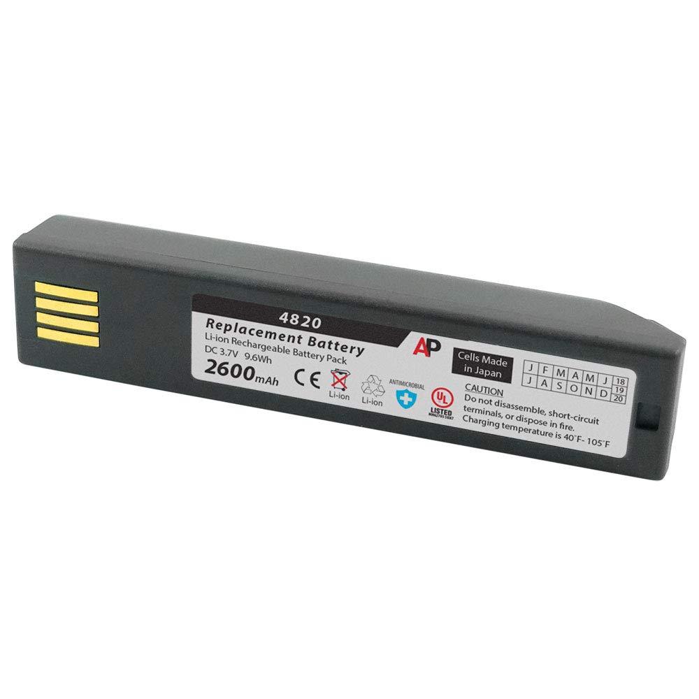 Artisan Power Honeywell 3820, 4820, 6320 & Xenon 1902: Replacement Battery. 2600 mAh by Artisan Power