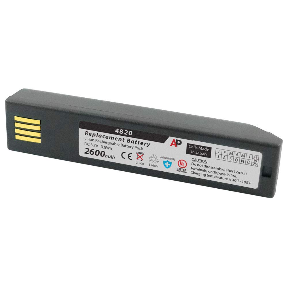 Artisan Power Replacement Battery for Honeywell 3820, 4820, 6320 and Xenon 1902. 2600 mAh