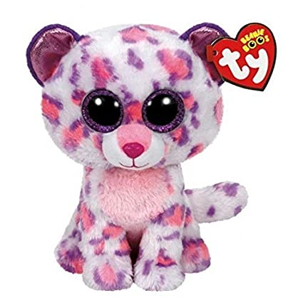 Ty Beanie Boos Serena - Snow Leopard (Justice Exclusive) by Ty Beanie Boos