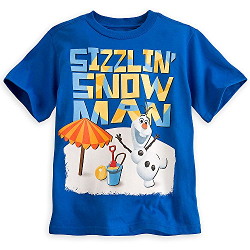Disney Frozen Olaf Blue Boys Tee Shirt