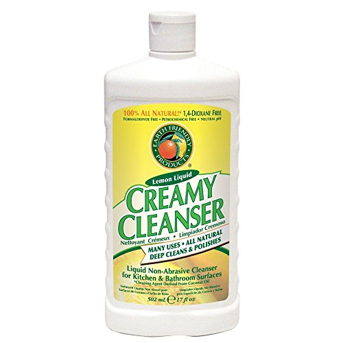 Creamy Sodium (Earth Friendly Products - Extra Thick Creamy Cleaner - Lemon - 500ml)