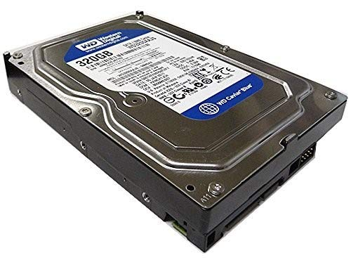 Western Digital Caviar SE (WD3200AAJS) 320GB 8MB Cache 7200RPM SATA 3.0Gb/s 3.5in Internal Desktop Hard Drive [Renewed]- w/ 1 Year - Sata 7200rpm 8mb 250gb Cache