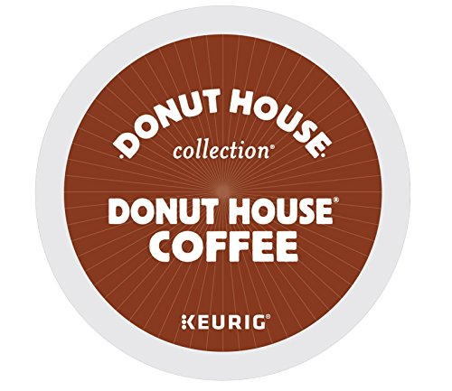 Donut House Collection Donut House Coffee Keurig Single-Serve K-Cup Pods, Light Roast, 72 Count (6 Boxes of 12 Pods) by Donut House Collection