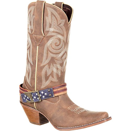 Cowgirl Wedding Boots - Durango Women's DRD0208 Western Boot, Brown