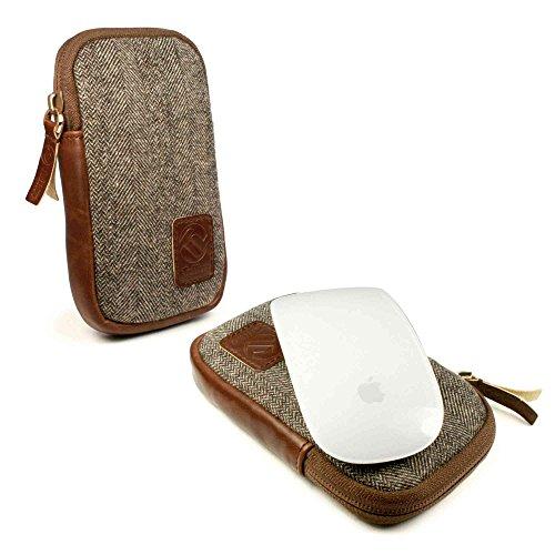 tuff-luv-herringbone-tweed-travel-case-for-apple-magic-mouse-1-2-brown