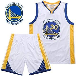 DEBND NBA Warriors 30# Curry Maglia da Basket